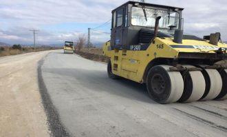 Beyoba ve Sazoba'ya sıcak asfalt