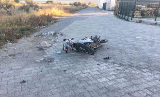 Borsa yolunda motosiklet kazası; 1 yaralı