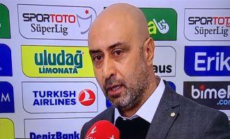 Bursaspor, Akhisarspor maçı ardından Kafkas'ın açıklamaları