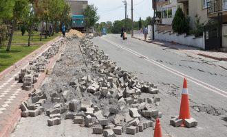 Büyükşehir Belediyesi Onarım Çalışmalarını Sürdürüyor