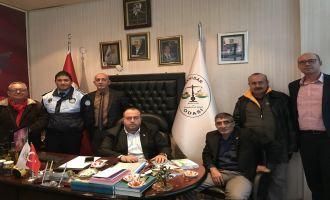 Büyükşehir'den Akhisar Pazarcılar Odası'na Ziyaret