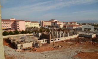 Çağlak Anadolu Lisesi ve Pansiyonu İnşaatı hızla devam ediyor