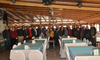 CHP, Akhisarlı Basını kahvaltıda ağırladı