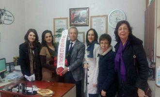 CHP İlçe Teşkilatından Muhtarlara Ziyaret