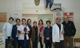 CHP Kadın Kolları Sağlık Çalışanlarını Unutmadı