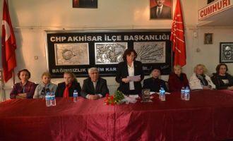 CHP Kadına Yönelik Şiddete Karşı basın açıklaması yaptı