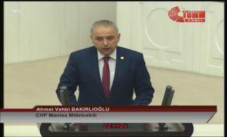 CHP Manisa Milletvekili Vehbi Bakırlıoğlu Meclis'te Yemin Etti