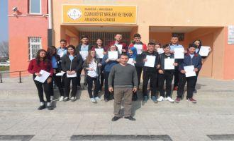 Cumhuriyet MTAL öğrencileri, Doğuda görev yapan askerleri unutmadı