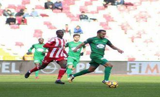 Demir Grup Sivasspor; 1 - T.M Akhisarspor; 1