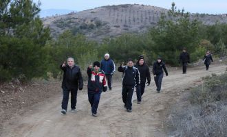 Doğa yürüyüşlerinde bu hafta rota Hasköy parkuru oldu