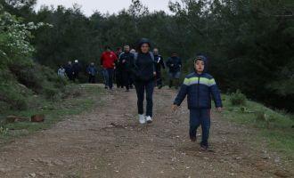 Doğa yürüyüşlerinin 28'inci hafta parkuru Kabaağaçkıran oldu