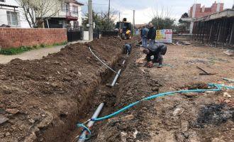 Efendi Mahallesi'nin İçme Suyu Şebeke Hattı Yenilendi