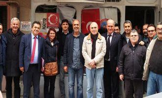 Eğitim-İş Genel Başkanı Mehmet Balık Akhisar'da