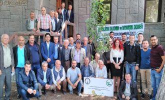 Eğitimli Çiftçinin Bereketli Zeytini Projesi Akhisar'da tanıtıldı