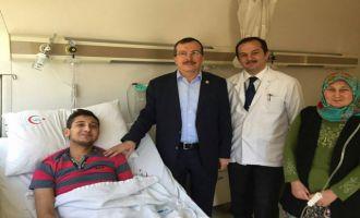 El Bab Gazisi Ömer Kayhan Akhisar'da tedavi görüyor
