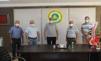 Erdayıoğlu'na Galericiler Sitesi Yönetiminden Hayırlı Olsun Ziyareti