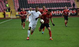 Eskişehirspor; 1 – Akhisarspor; 2