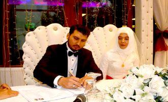 Fatma ile Mustafa'nın mutlu günü