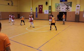Futsal turnuvasında 24 maç geride kaldı