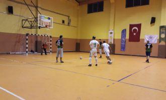 Futsal turnuvasında 2'inci hafta sona erdi