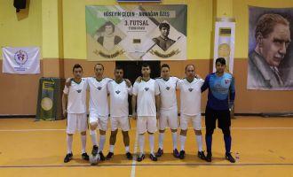 Futsal turnuvasında 3'üncü hafta sona erdi