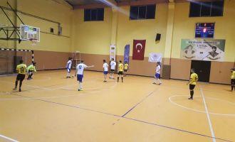 Futsal turnuvasında final grubu şekilleniyor