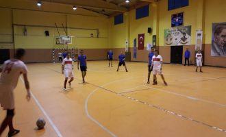 Futsal turnuvasında günün maçları