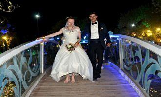Gizem ve Emin Ütopia Wedding dedi