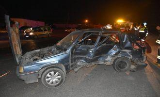 Gökçeahmet Kavşağında kaza: 6 yaralı