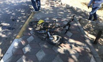 Gölmarmara yolu üzerinde kaza; 1 Ölü, 1 Yaralı