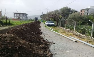 Hürriyet Mahallesi'nin İçme Suyu Hattı Yenilendi