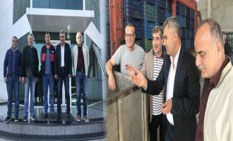 İlçe Tarım Müdürü Kılıç'dan Zeytin İşletmelerine Ziyaret
