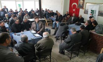 İlçe Tarım, Selçikli'de TARSİM bilgilendirme toplantısı yapıldı