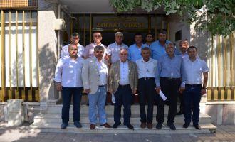 İlçe Ziraat Odaları Başkanları Akhisar'da Bir Araya Geldi
