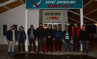 İsmail Ataç, Down Cafe'yi ziyaret etti
