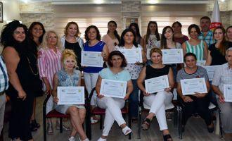 Kadın Girişimciler, Sertifikalarını Aldılar
