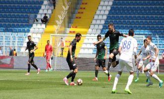 Kasımpaşa; 0 - Akhisar Belediyespor; 2