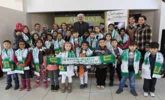 Kayalıoğlu İlkokulu öğrenciler şehrini keşfetti