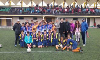 Küçük erkekler futbol il birinciliği Akhisar'da yapıldı