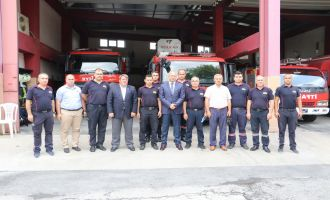 Manisa Büyükşehir Belediyesi Genel Sekreteri Akhisar'daki birimleri ziyaret etti.