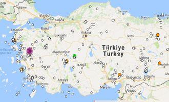 Manisa'daki deprem Akhisar'da da hissedildi