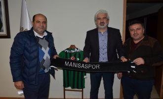 Manisaspor yönetiminden, Akhisar Belediye Başkanı Salih Hızlı'ya teşekkür
