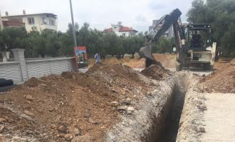 MASKİ'den Yeni Yerleşim Alanına Ek Kanalizasyon Hattı