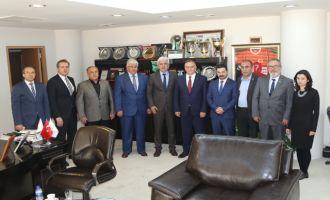 MHP Milletvekili Akçay'dan Belediye Başkanı Salih Hızlı'ya ziyaret