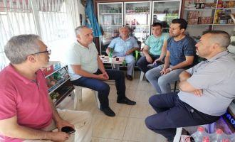 Milletvekili Bakırlıoğlu Akhisar Merkez Çarşı İnşaatını İnceledi