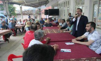 Milletvekili Uğur Aydemir, Ahmetli ve Salihli İlçelerini Ziyaret Etti