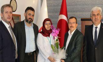 Milletvekili Uğur Aydemir ve Belediye Başkanı Salih Hızlı Ağız ve Diş Sağlığı haftasını kutladı