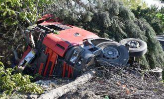 Novada Outlet karşısında feci kaza