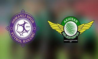 Osmanlıspor - T.M. Akhisarspor maçı ardından
