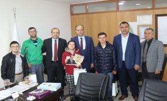 Özel çocuklardan Akhisar Belediyesine teşekkür